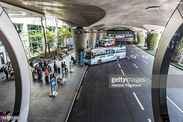 Incheon International Airport Station, bus in the exterior