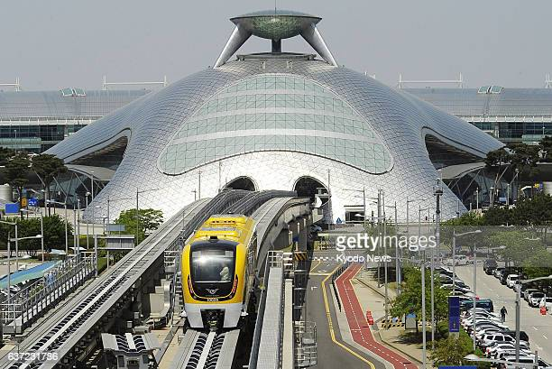 Incheon South Korea South Korea's first magnetically levitated train to be operated on the northwestern island of Yeongjong where Incheon...