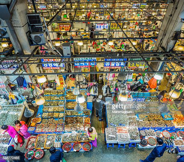 incheon, the grand fishery market - 仁川 ストックフォトと画像