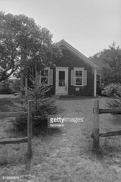 Incident at Chappaquiddick Edgartown Massachusetts This is the cottage on Chappaquiddick Island in which a party attended by Senator Edward Kennedy...