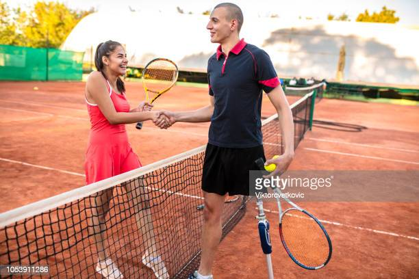 Inclusive Sports at tennis court