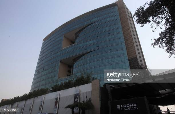 Income Tax raided the office of Lodha builders in Apollo Mill compound at Lower Parel on Monday