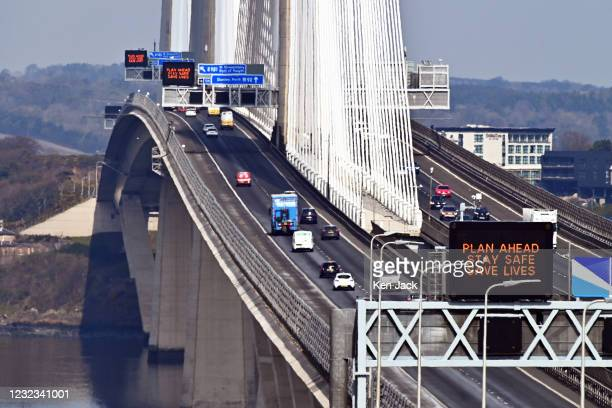 Increased traffic on the Queensferry Crossing, which links Edinburgh and Fife, as the Scottish Government removed travel restrictions within...