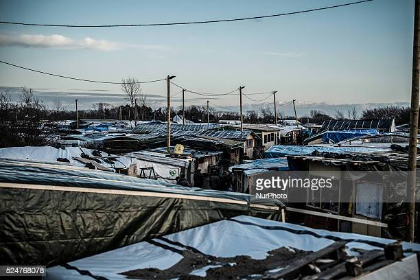 Increasingly huts are concentrated on the northern part of the jungle in Calais France on February 19 2016