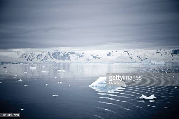 incredible arctic landscape - mlenny stock pictures, royalty-free photos & images