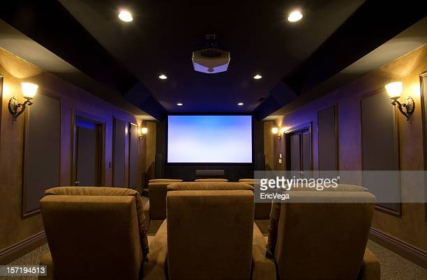 incredible home theater - entertainment center stock pictures, royalty-free photos & images