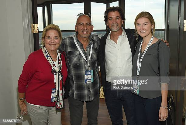 Inc's Bebe Evans Eastern States Exposition's John Juliano APA's Steve Lassiter and Eastern States Exposition's Anne Alise Pietrusca attend the APA...