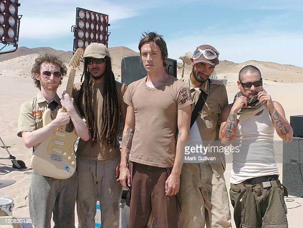 Incubus during Incubus on Location for 'Make a Move' Music Video May 13 2005 at Dumont Dunes in Baker California United States
