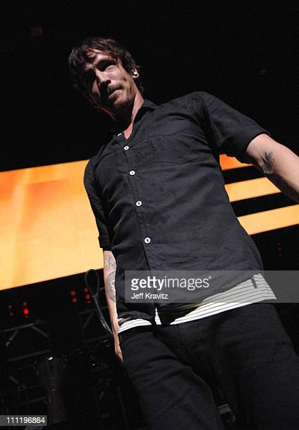 Incubus during KROQ Almost Acoustic Christmas 2006 Night 1 Incubus at Gibson Amphitheatre in Universal City California United States