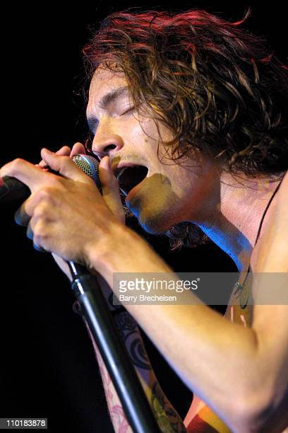Incubus during Lollapalooza 2003 Chicago at Tweeter Center in Tinley Park Illinois United States