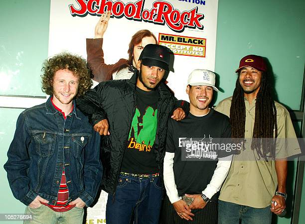 Incubus during 'School of Rock' Premiere Arrivals at Cinerama Dome in Hollywood California United States