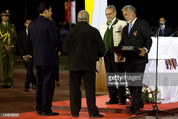 Incumbent Presdient Jose Ramos Horta and Prime Minister Xanana Gusmao at the Presidential anugaration ceremony as East Timor celebrates ten years of...