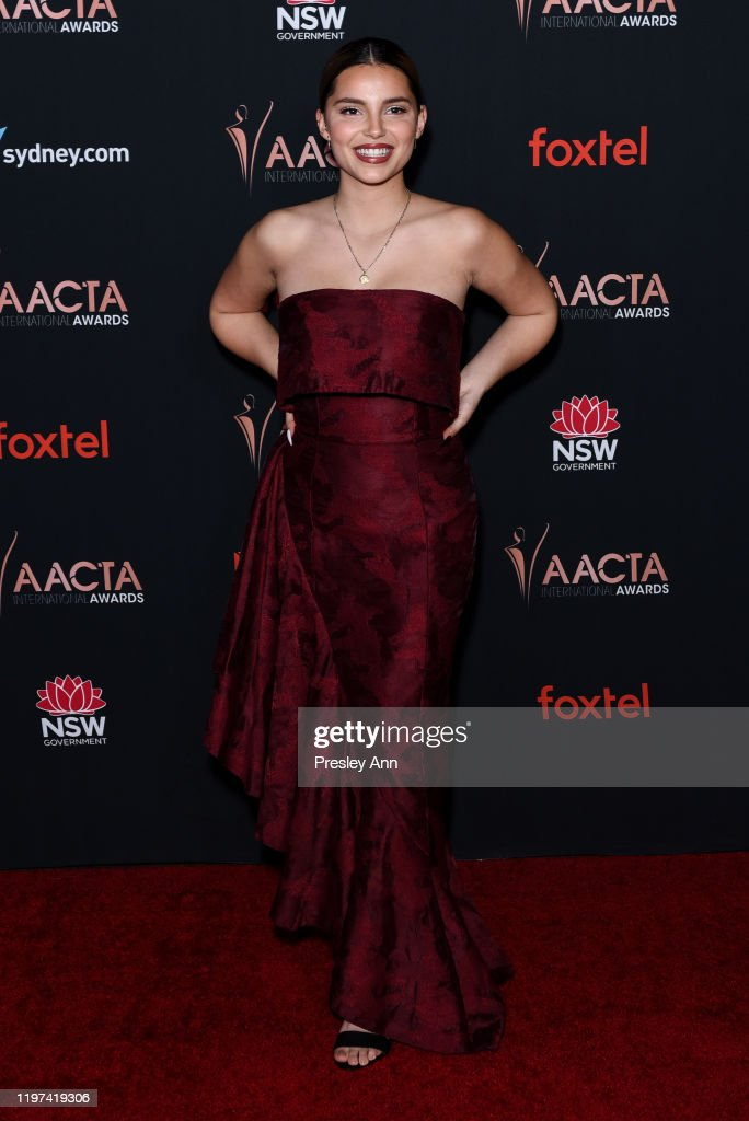 Inde Navarrette Attends 9th Annual Australian Academy Of Cinema And News Photo Getty Images