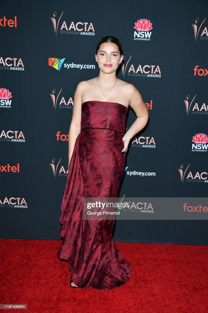 Inde Navarrette Attends The 9th Annual Australian Academy Of Cinema News Photo Getty Images