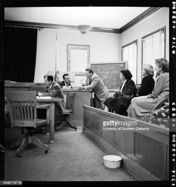 Indecent exposure case 6 December 1951 Lili Saint Cyr defendantJerry Geisler AttorneyHerman Hover on standBernard Gross Deputy District...