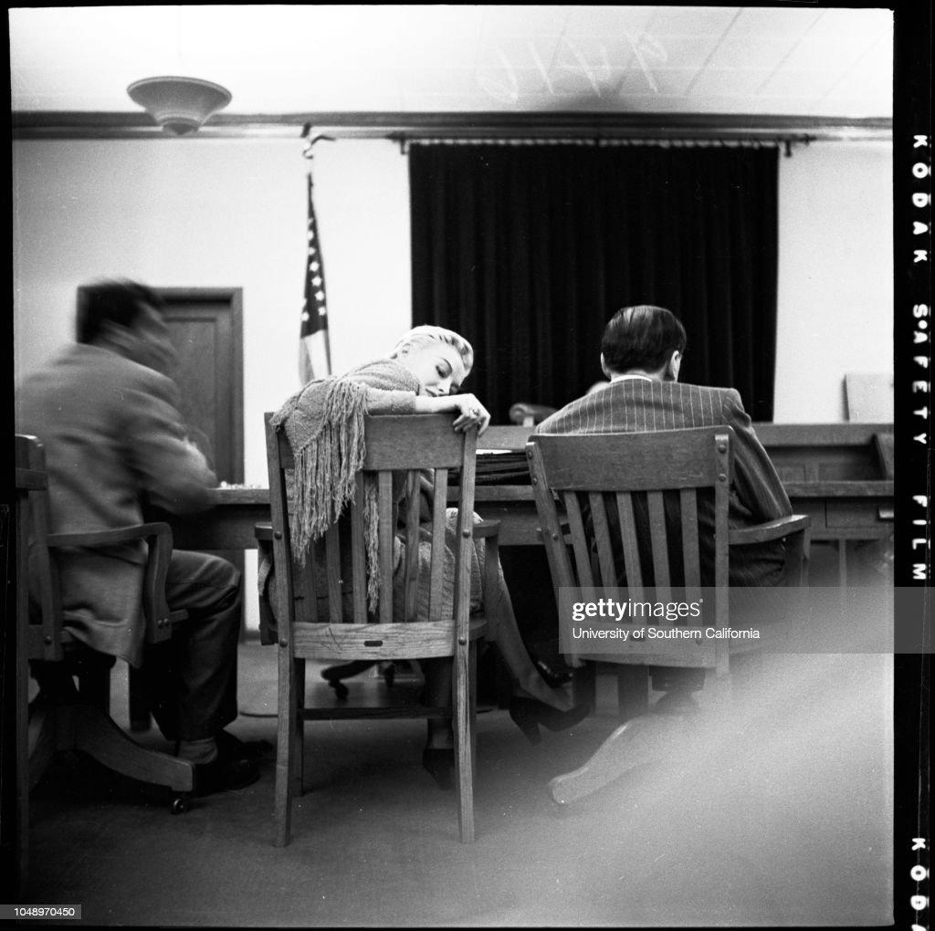 Indecent exposure case, 1951 : Foto jornalística