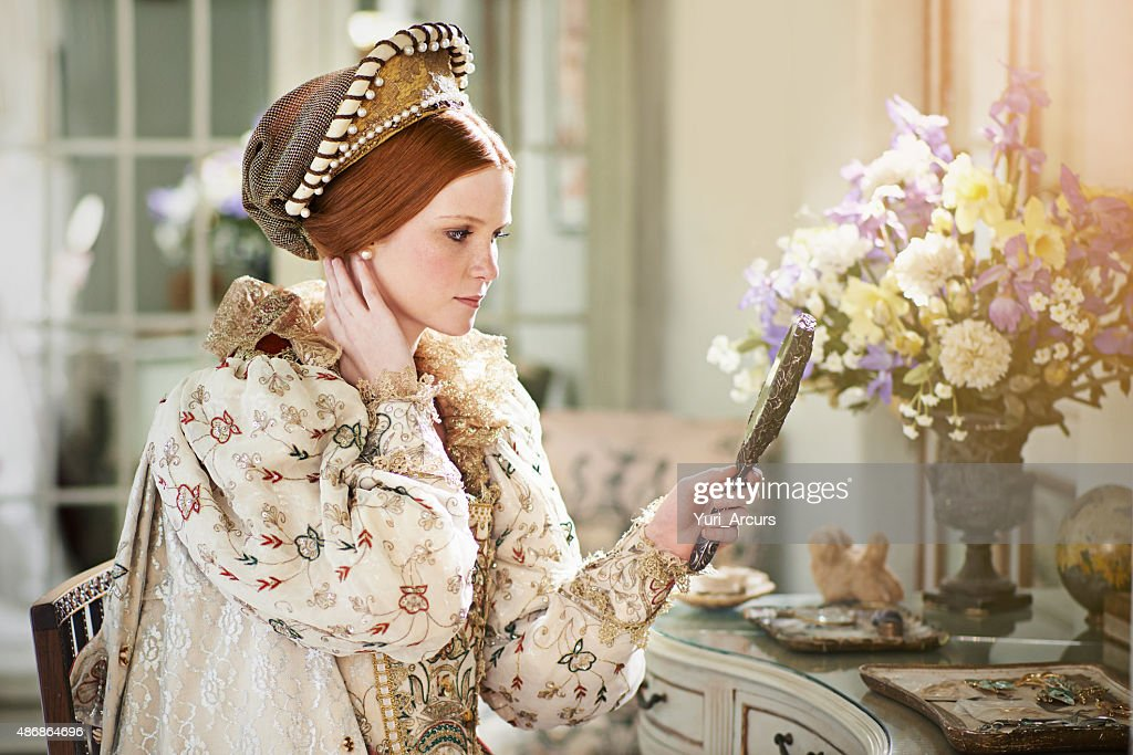 Indeed I am the fairest in the kingdom! : Stock Photo