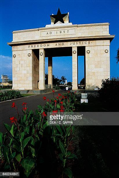 Independence Arch Accra Ghana 20th century