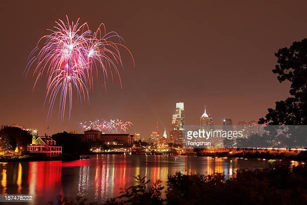 Independence day celebration at Philadelphia
