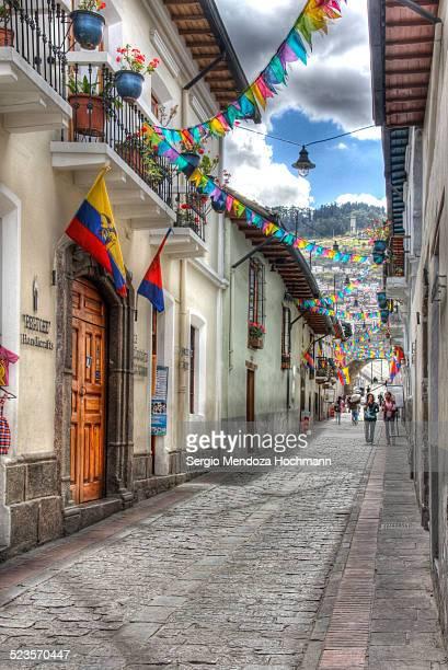 Independence Day in Quito, Ecuador