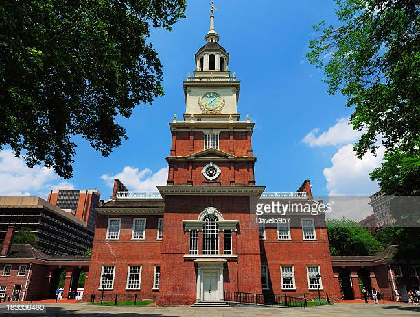 Independence Hall located in Philadelphia Pennsylvania