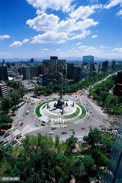 Independence Monument and Paseo de la Reforma