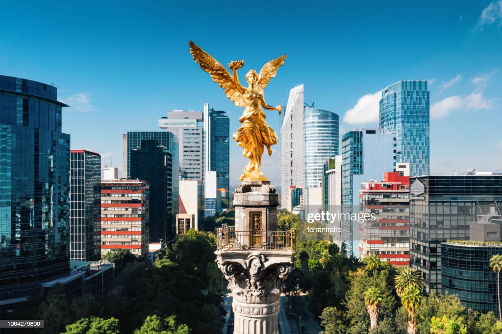 Independence Monument Mexico City : Stock Photo