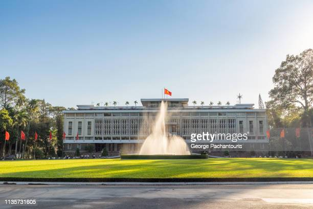 independence palace, ho chi minh city, vietnam - ho chi minh city stock pictures, royalty-free photos & images