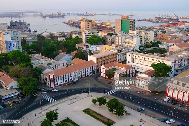 Independence squar overhead, Dakar