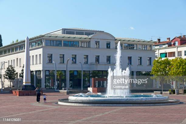 Independence Square in Podgorica
