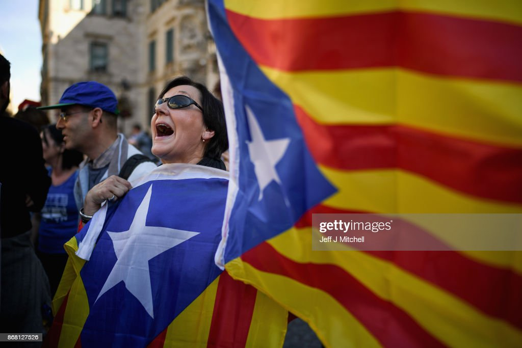 Catalonia Returns To Work As Spain Impose Direct Rule : News Photo