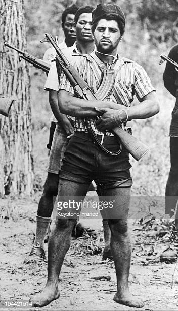 Independence War In Angola Armed Men