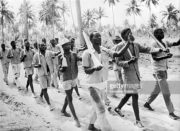 Independence War In Mozambique Tanzanian Training Camp In 1965
