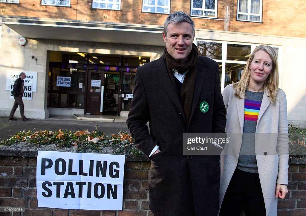 Zac Goldsmith Casts His Vote In The Richmond Park By-election