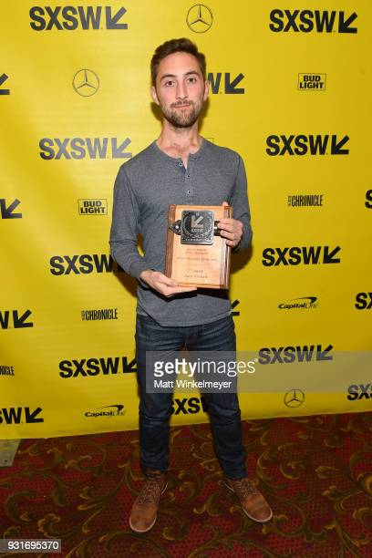 Independent Episodic Award winner for Beast Ben Strang attends the SXSW Film Awards Show 2018 SXSW Conference and Festivals at Paramount Theatre on...