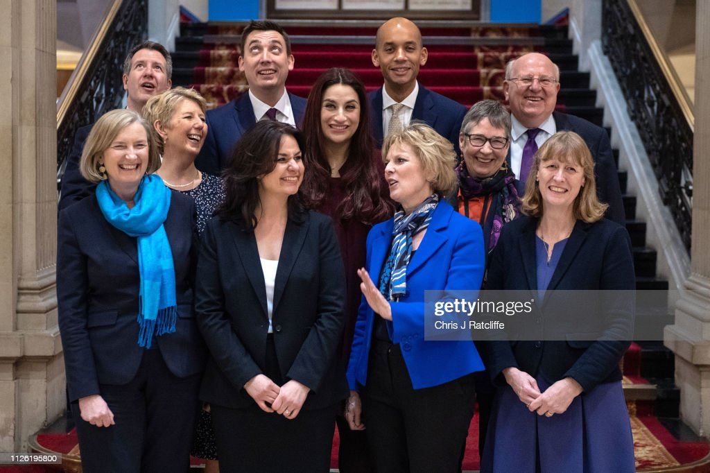 Conservative MPs Resign To Join The Independent Group : News Photo