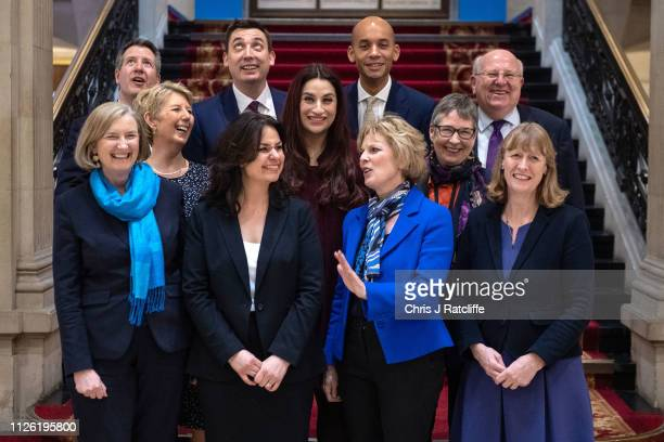 Independent Group member MPs Former Labour MPs Chris Leslie, Gavin Shuker, Chuka Umunna and Mike Gapes, former Labour MPs Angela Smith, Luciana...