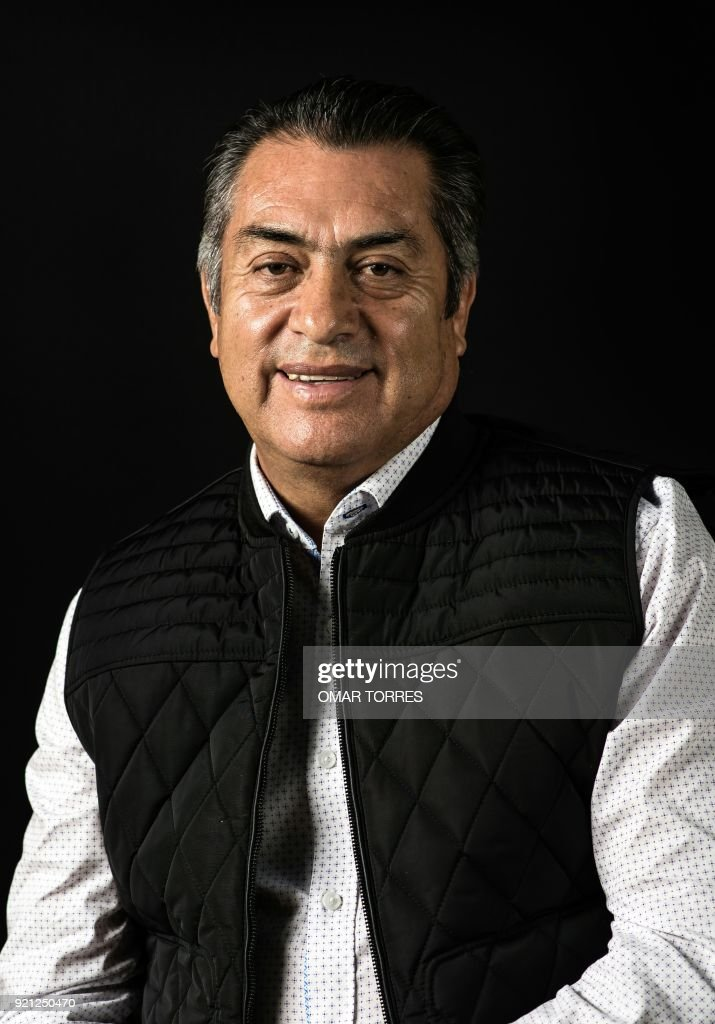 Independent Presidential Candidate Jaime Rodriguez Calderon The Bronco Poses For A Photograph On February