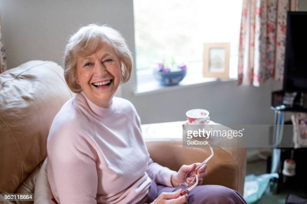 Independent Senior Woman at Home