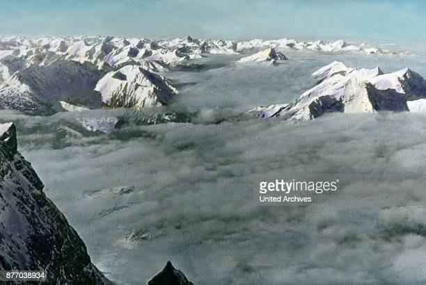 Indescribably beautiful is the view from here on the wonders of the Alps On a clear day you have an infinitely wide view but also when the clouds of...
