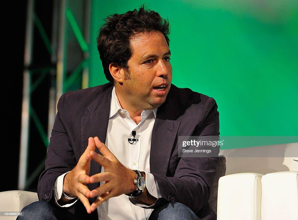 Index Ventures General Partner Danny Rimer speaks onstage at TechCrunch Disrupt at Pier 48 on September 8, 2014 in San Francisco, California.