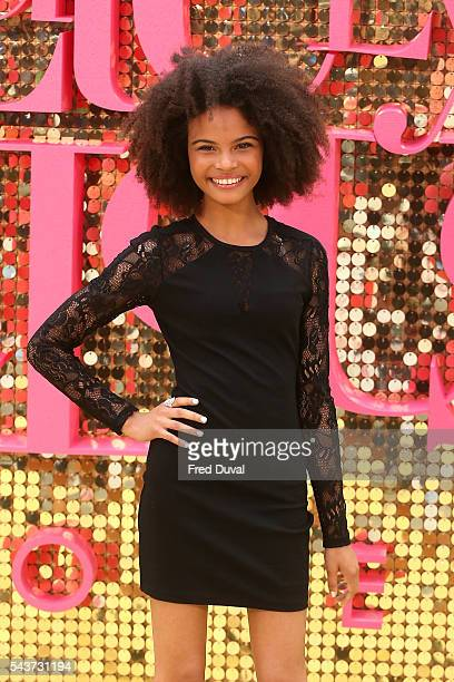 Indeyarna Donaldson Holness attends the World Premiere of Absolutely Fabulous at Odeon Leicester Square on June 29 2016 in London England