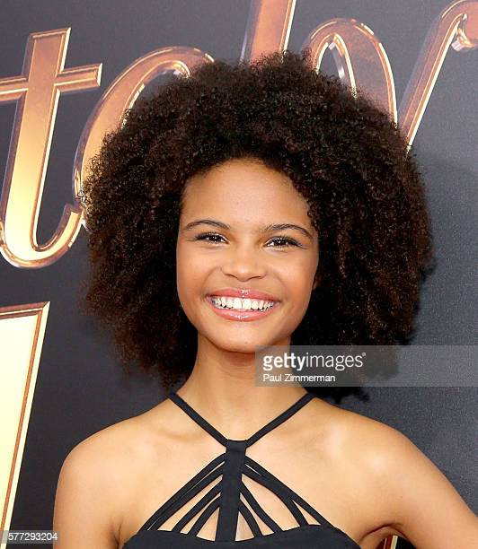 Indeyarna DonaldsonHolness attends Absolutely Fabulous The Movie New York Premiere at SVA Theater on July 18 2016 in New York City