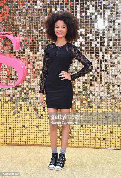 Indeyarna DonaldsonHolness attends the Absolutely Fabulous The Movie World Premiere at the Odeon Leicester Square on June 29 2016 in London England
