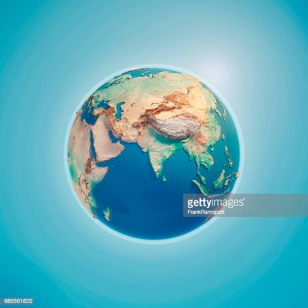 india 3d render planet earth - frank ramspott stock pictures, royalty-free photos & images