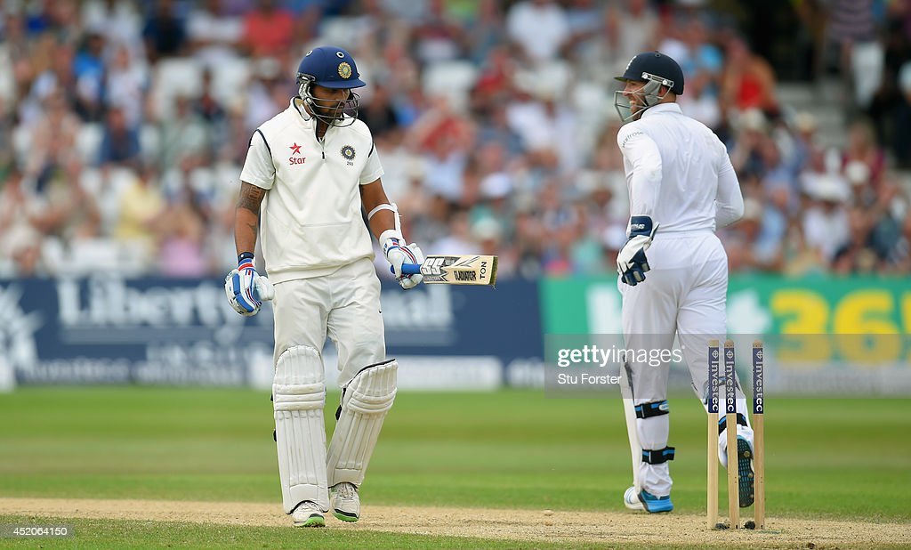 England v India: 1st Investec Test - Day Four