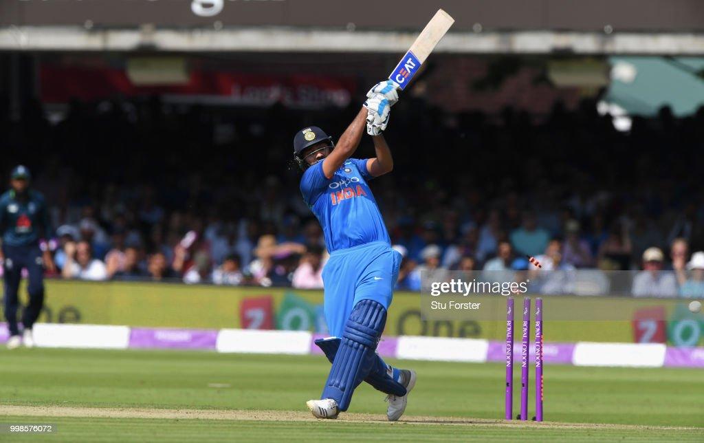 England v India - 2nd ODI: Royal London One-Day Series : News Photo