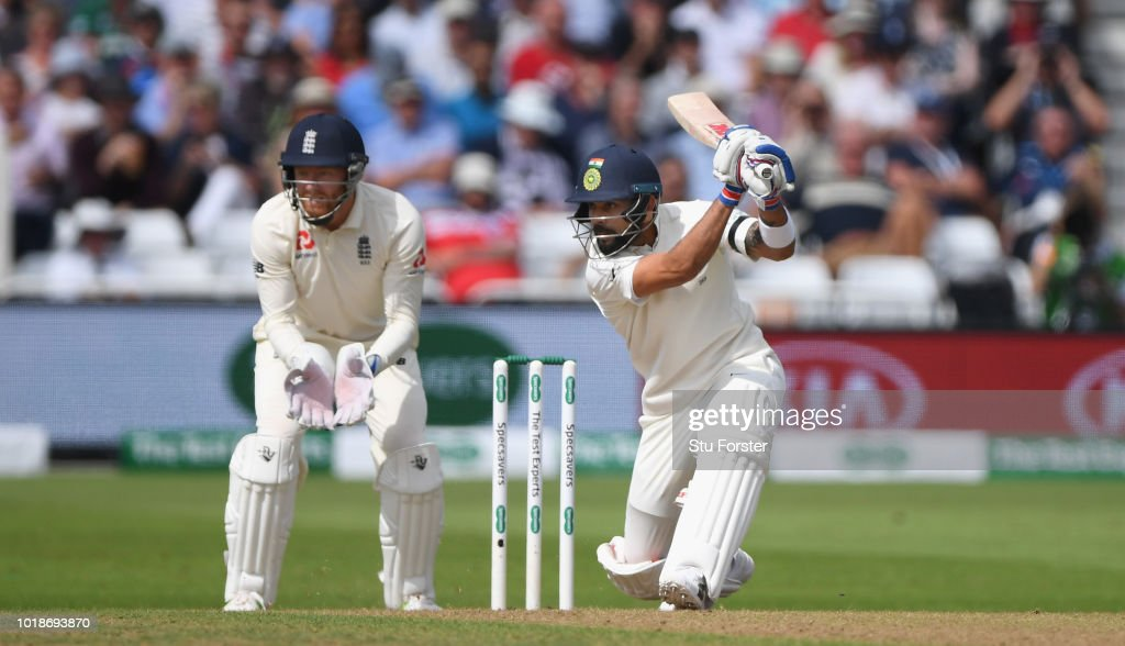 England v India: Specsavers 3rd Test - Day One : News Photo