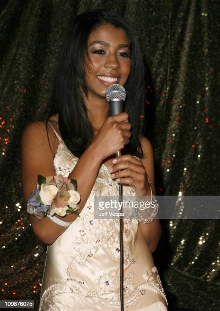 India Benet during Sharon Stone and Kelly Stone Host the 1st Annual 'Class of Hope Prom 2007' Charity Benefit Red Carpet and Inside at Sportsmen's...