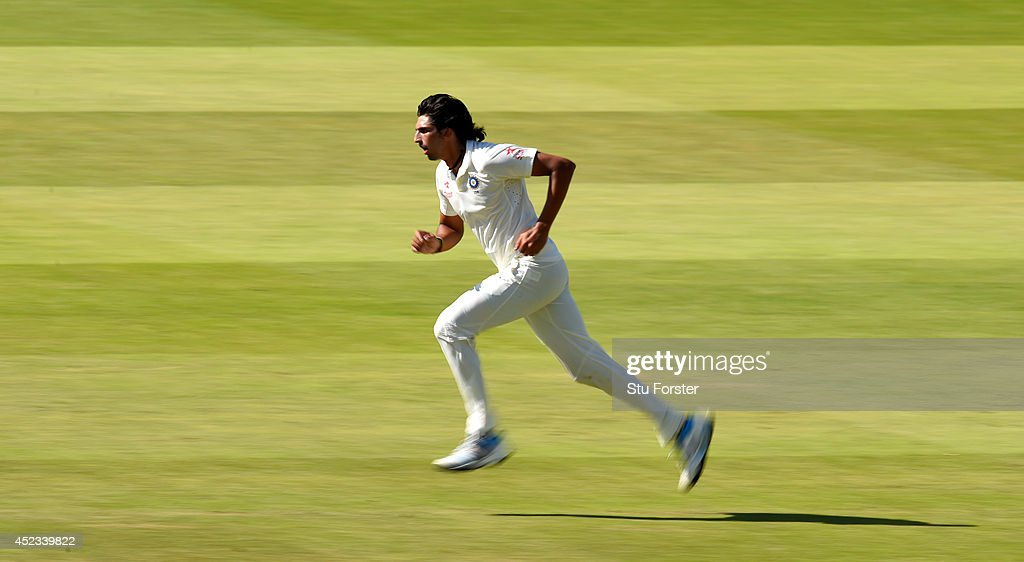 England v India: 2nd Investec Test - Day Two : News Photo